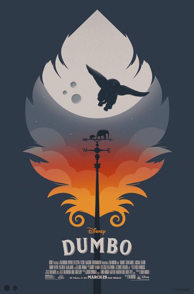 """Dumbo"" poster. Courtesy Eileen Steinbach."