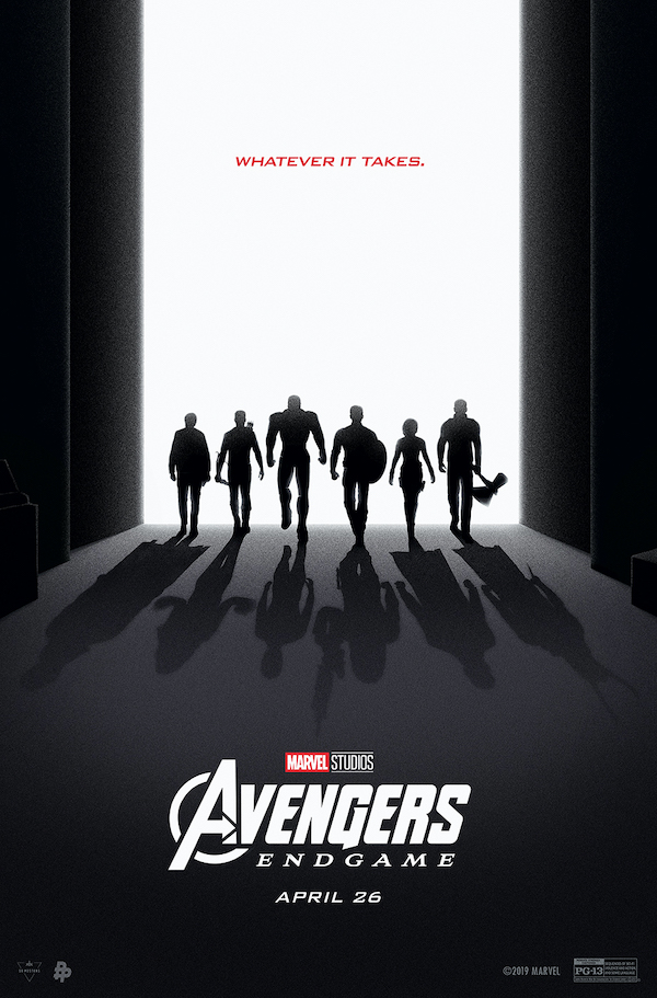 "A thin Thor, unlike the one we got in the actual film, in Eileen's ""Avengers: Endgame"" tribute poster. Courtesy Eileen Steinbach."