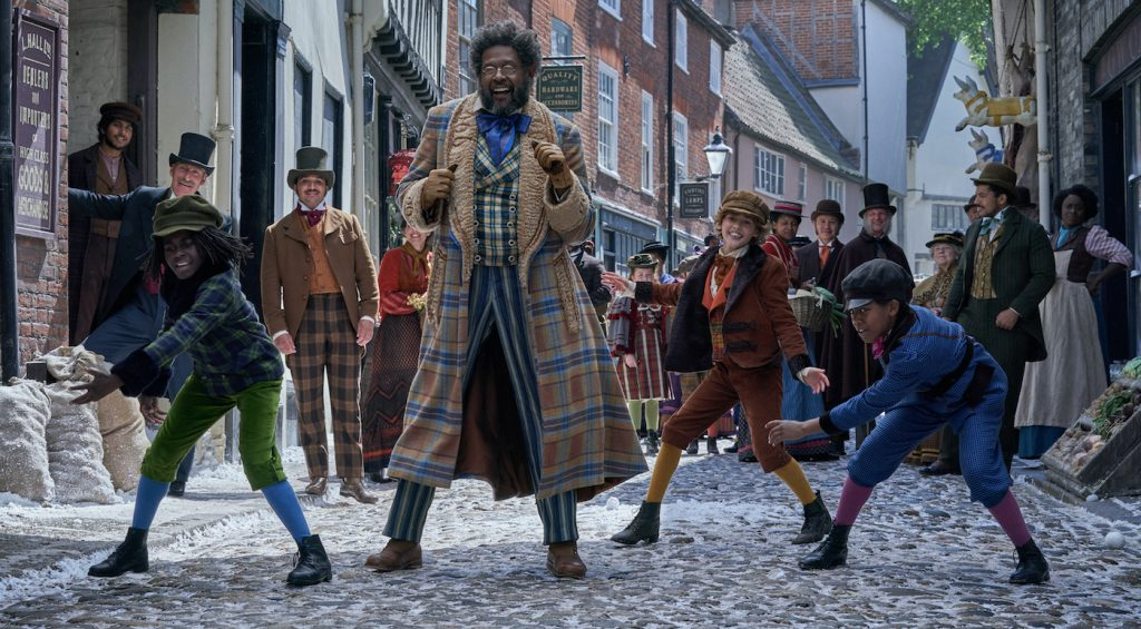 Jingle Jangle: A Christmas Journey (2020) Forest Whitaker as Jeronicus Jangle. Cr. Gareth Gatrell/NETFLIX ©2020
