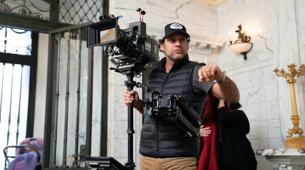 Caption: A Camera/Steadicam operator Roberto de Angelis (Niko Tavernise/HBO)