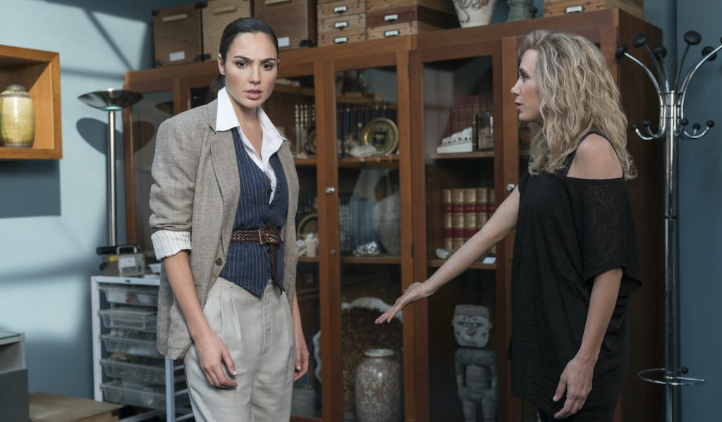 "Caption: (L-r) GAL GADOT as Diana Prince and KRISTEN WIIG as Barbara Minerva and in Warner Bros. Pictures' action adventure ""WONDER WOMAN 1984,"" a Warner Bros. Pictures release. Photo Credit: Clay Enos/ ™ & © DC Comics"