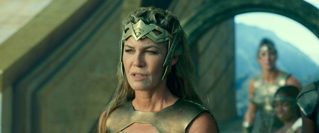 "Caption: CONNIE NIELSEN as Hippolyta in Warner Bros. Pictures' action adventure ""WONDER WOMAN 1984,"" a Warner Bros. Pictures release. Photo Credit: Courtesy of Warner Bros. Pictures/ ™ & © DC Comics"