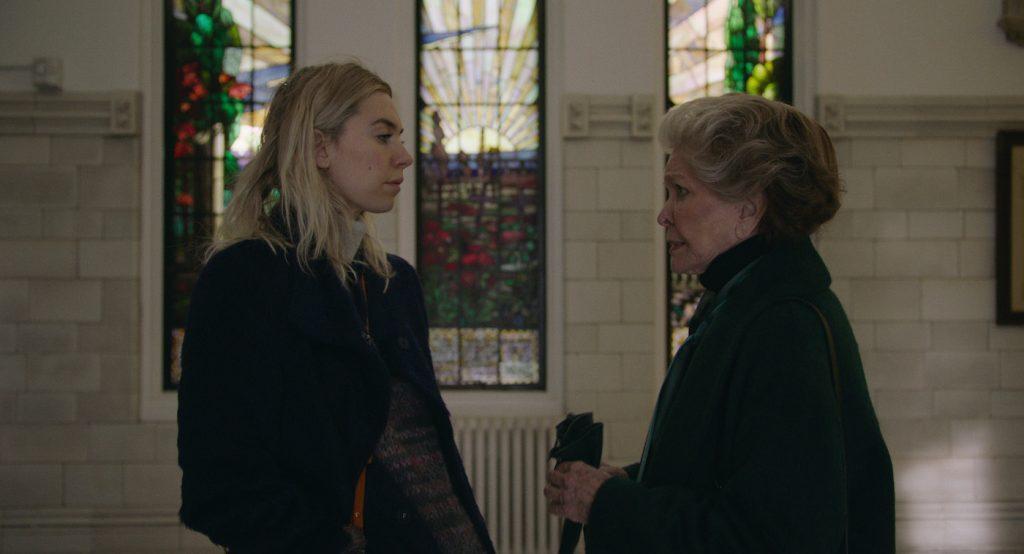 PIECES OF A WOMAN: (L to R) Vanessa Kirby as Martha, Ellen Burstyn as Elizabeth
