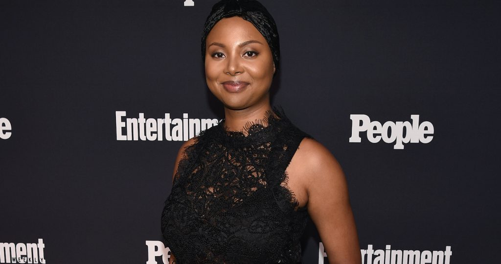 NEW YORK, NY - MAY 15: Misha Green of Underground attends the Entertainment Weekly and PEOPLE Upfronts party presented by Netflix and Terra Chips at Second Floor on May 15, 2017 in New York City. (Photo by Bryan Bedder/Getty Images for Entertainment Weekly and PEOPLE )