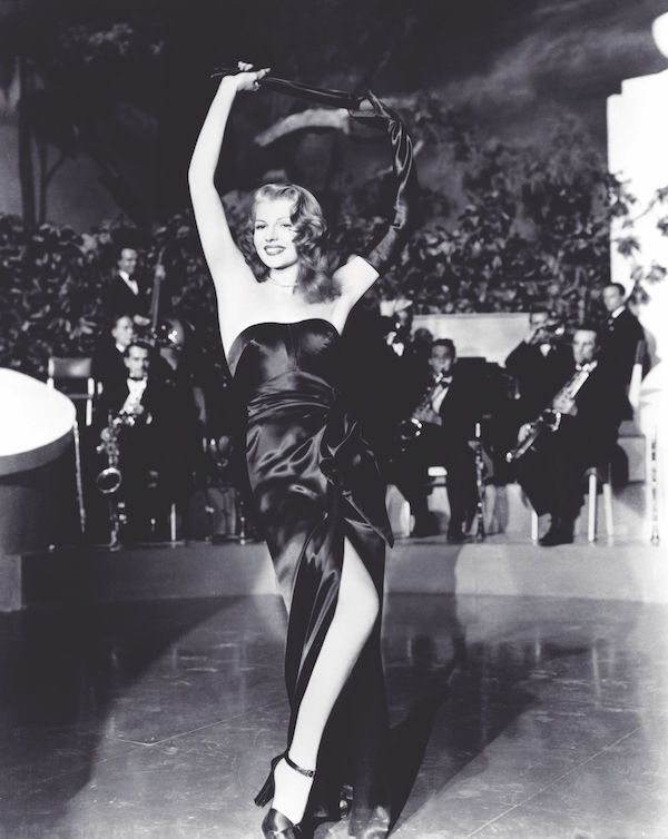 GILDA, Rita Hayworth, 1946, 'Put the Blame on Mame.' Courtesy Sony Pictures
