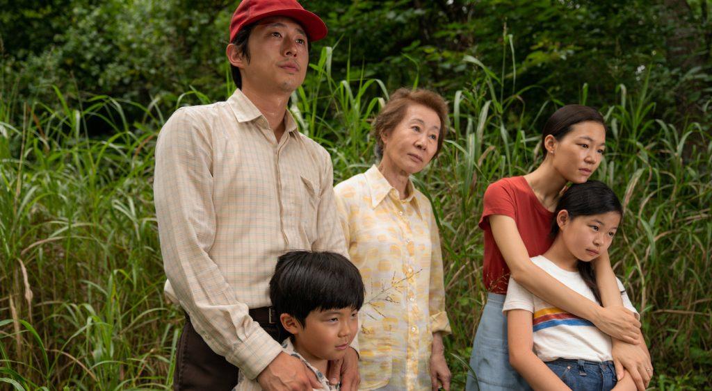 Steven Yeun, Alan S. Kim, Yuh-Jung Youn, Yeri Han, Noel Cho Director Lee Isaac Chung Credit: Josh Ethan Johnson