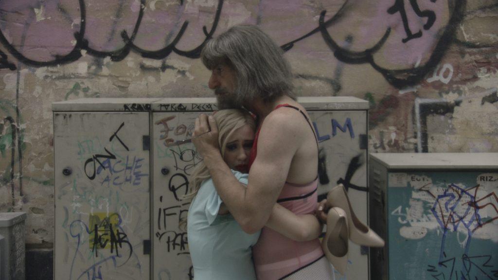 Maria Bakalova and Sacha Baron Cohen in 'Borat Subsequent Moviefilm.' Courtesy of Amazon Studios