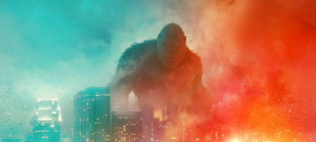 The new poster for 'Godzilla vs. Kong.' Courtesy Warner Bros. & Legendary Pictures.