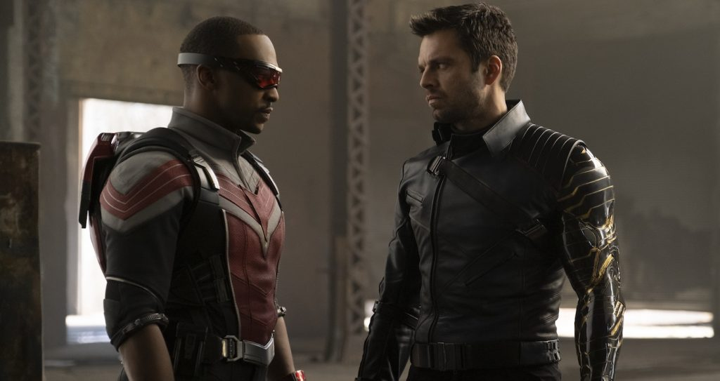 Anthony Mackie and Sebastian Stan in