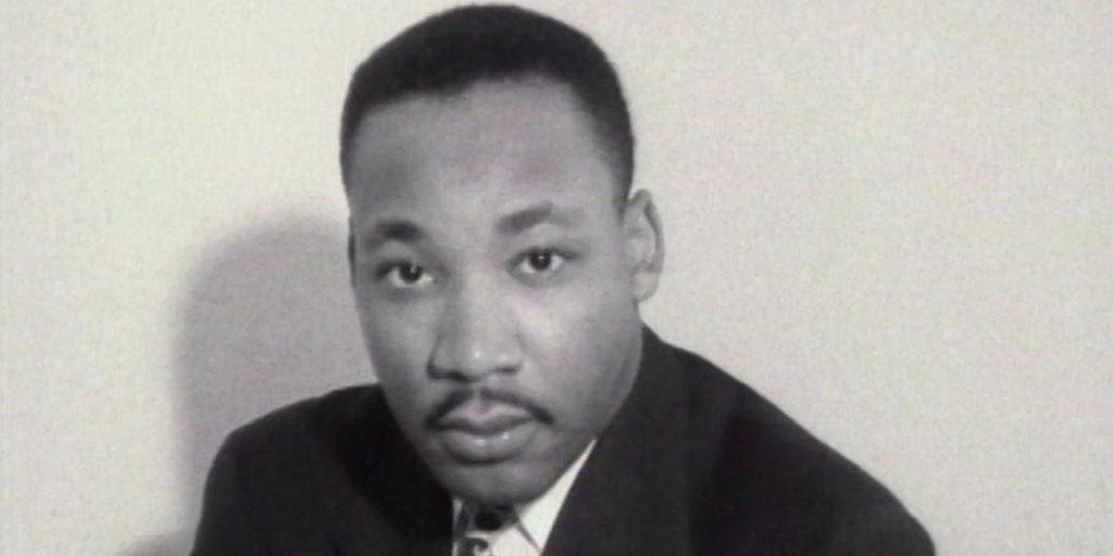 Dr. Martin Luther King in Sam Pollard's 'MLK/FBI'. Courtesy of IFC Films. An IFC Films Release.