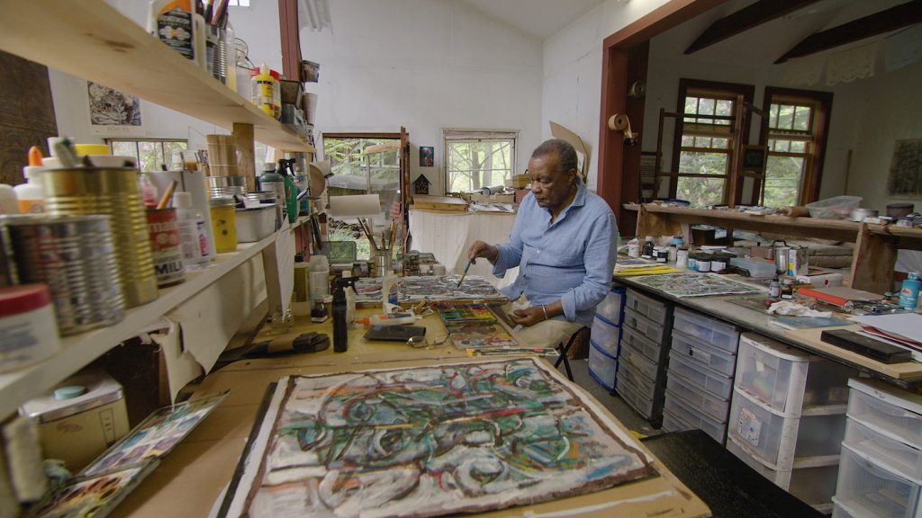 David Driskell. Photograph by Courtesy of HBO