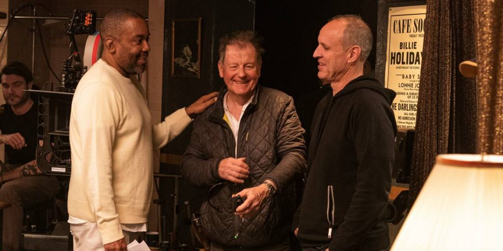 L-r: Lee Daniels, DP Andrew Dunn, and production designer Daniel T. Dorrance. Courtesy Hulu.