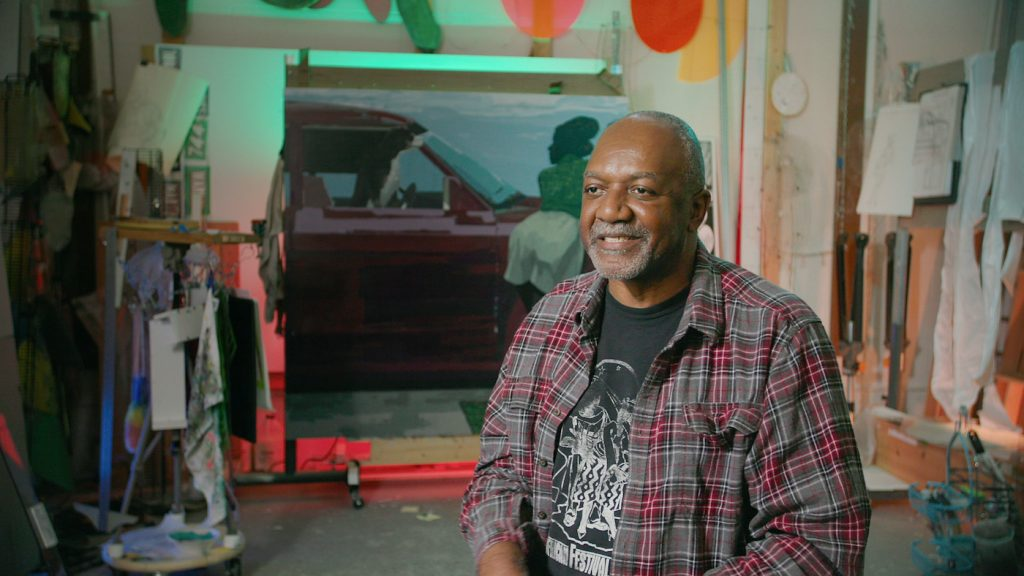 Kerry James Marshall. Photograph by Courtesy of HBO