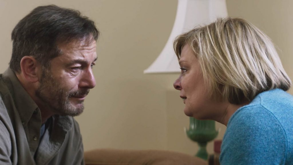 Jason Isaacs and Martha Plimpton appear in