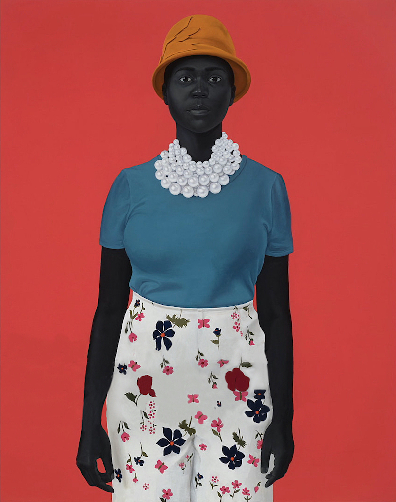 """""""She Had An Inside And An Outside Now And Suddenly She Knew How Not To Mix Them,"""" Amy Sherald, 2018. Courtesy HBO"""