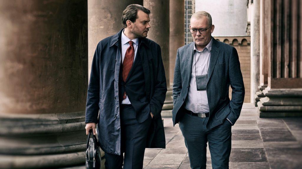 Soren Malling, Pilou Asbaek. Photograph by Henrik Ohsten/HBO