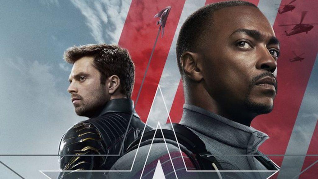 Sebastian Stan is Bucky Barnes and Anthony Mackie is Sam Wilson in