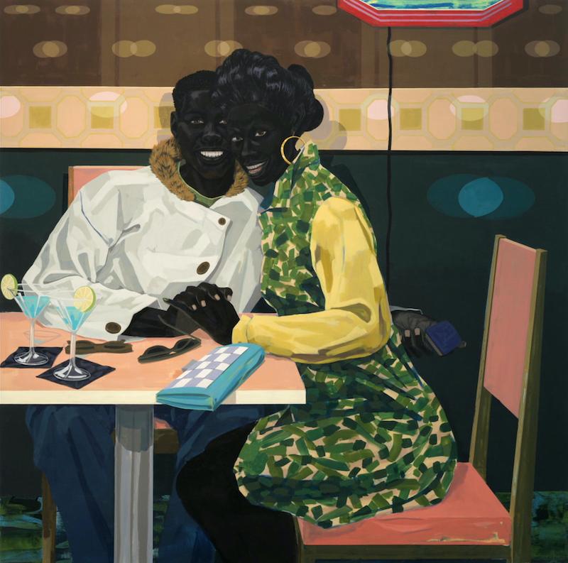 """Untitled (Club Couple),"" Kerry James Marshall, 2014. Courtesy HBO."