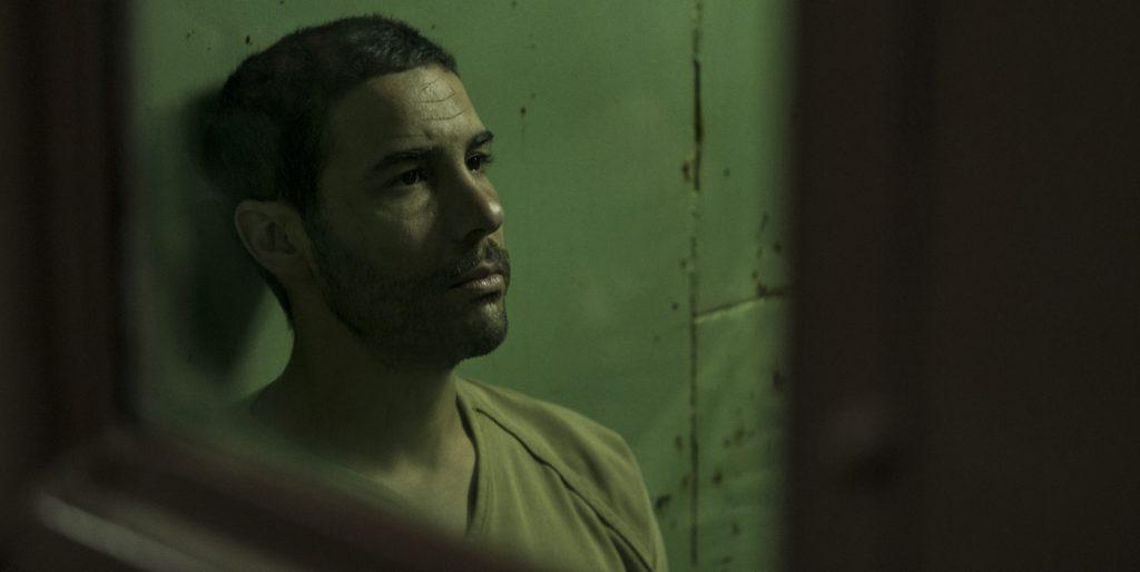 "Tahar Rahim in ""The Mauritanian."" Courtesy STX."