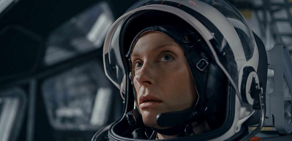 STOWAWAY - TONI COLLETTE as MARINA BARNETT. Cr: © 2021, Stowaway Productions, LLC, Augenschein Filmproduktion GmbH, RISE Filmproduktion GmbH.  All rights reserved.