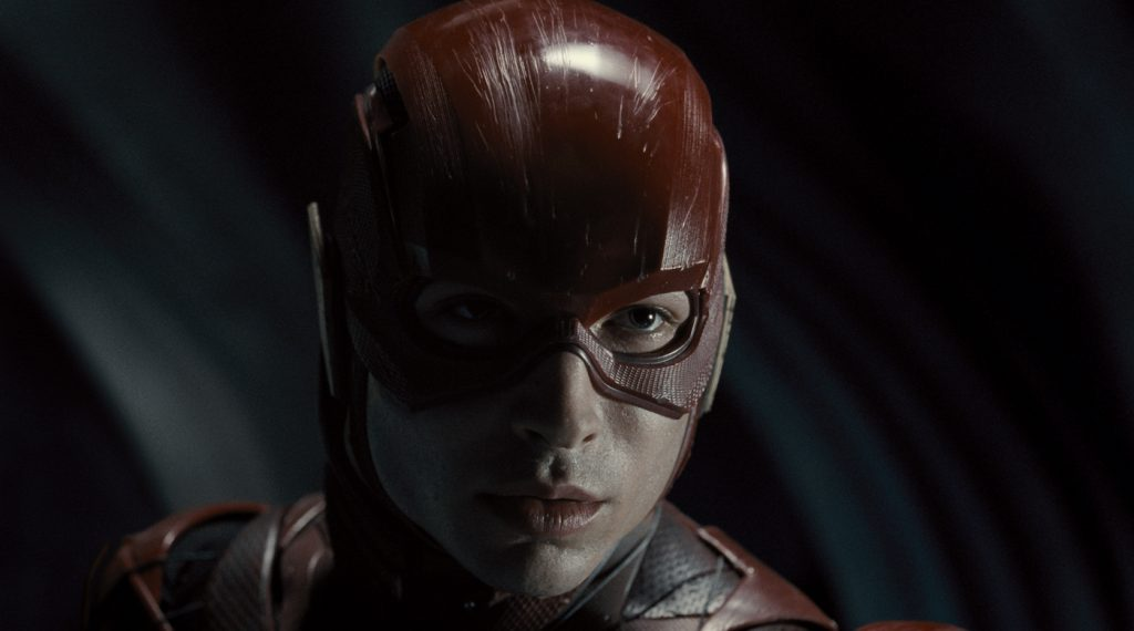 Ezra Miller (The Flash / Barry Allen). Courtesy HBO Max.