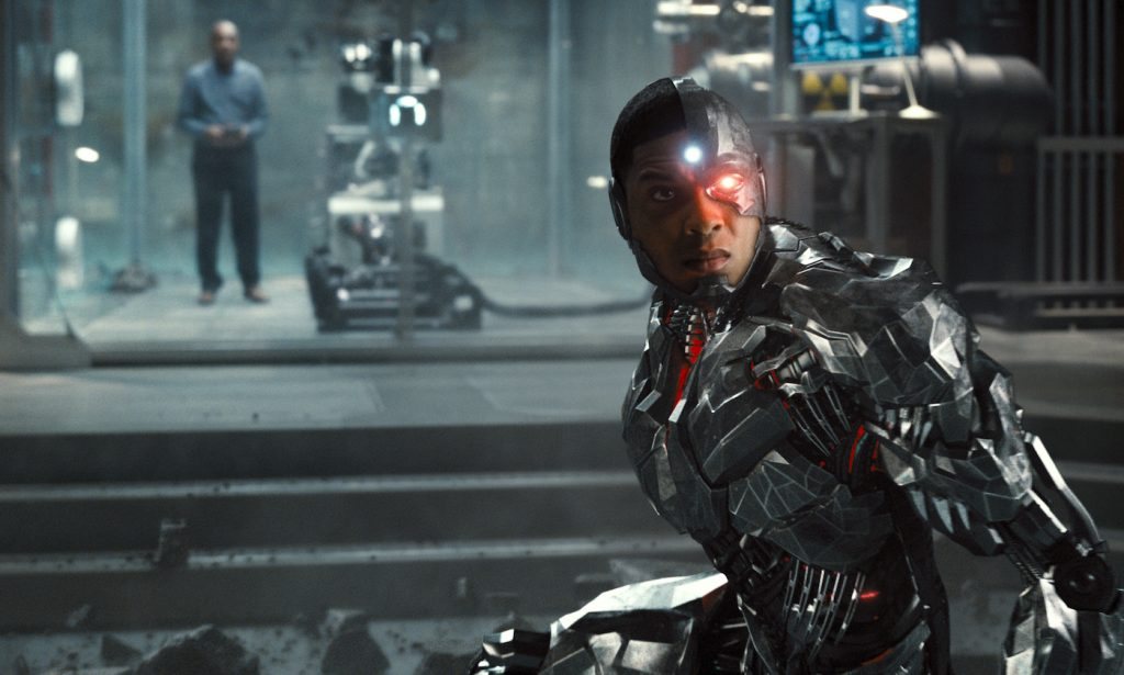 Ray Fisher (Cyborg / Victor Stone). Courtesy HBO Max.