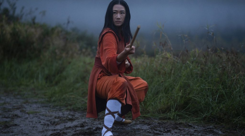 """Kung Fu"" Pilot - Pictured: Olivia Liang as Nicky Shen -- Photo: Kailey Schwerman/The CW -- © 2021 The CW Network, LLC. All Rights Reserved"