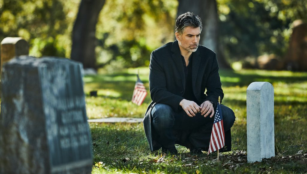 Anson Mount as The Virtuoso in The Virtuoso. Photo Credit: Lance Skundrich