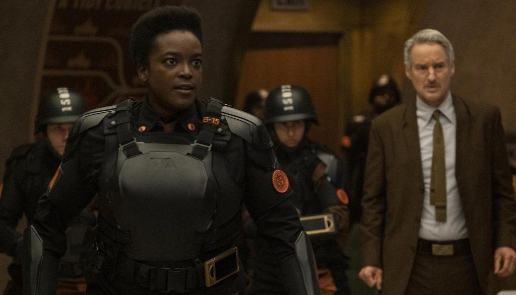 Wummi Mosaku and Owen Wilson in 'LOKI.' Photo Courtesy Marvel Studios.