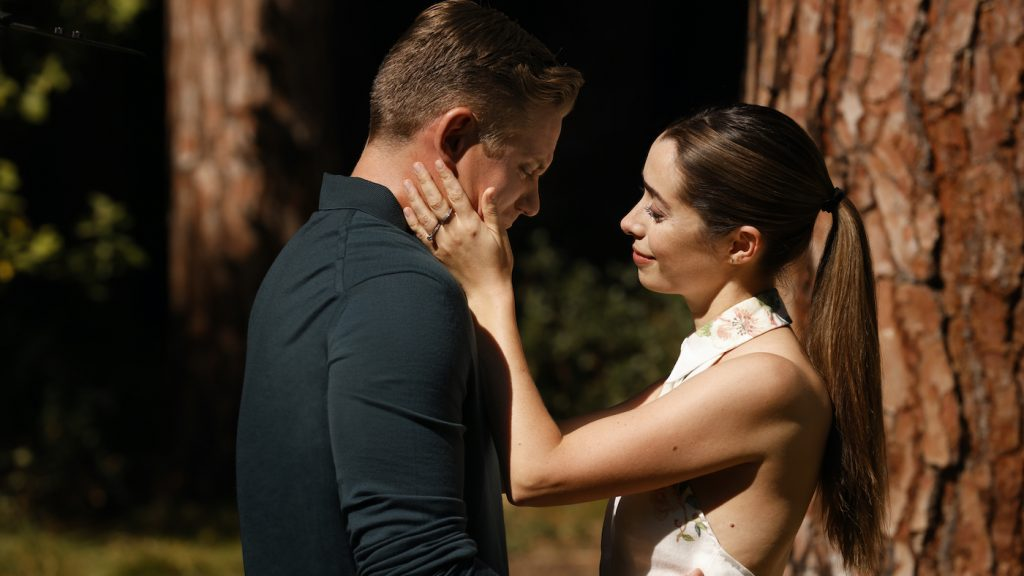 Billy Magnussen and Cristin Milioti. Photograph by John P. Johnson / HBO Max