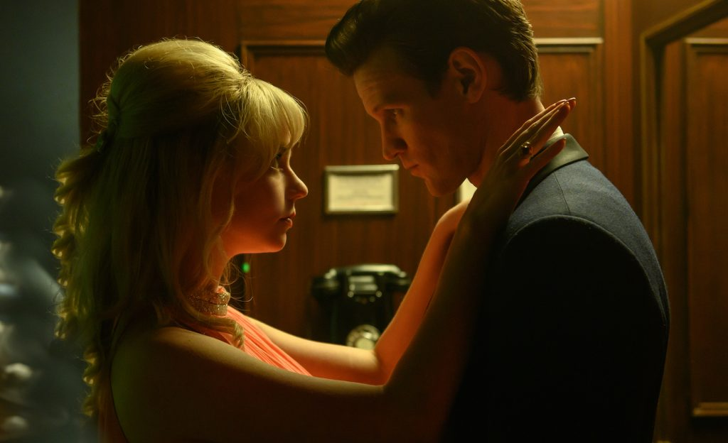 Anya Taylor-Joy stars as Sandy and Matt Smith as Jack in Edgar Wright's LAST NIGHT IN SOHO, a Focus Features release. Credit: Parisa Taghizadeh / Focus Features