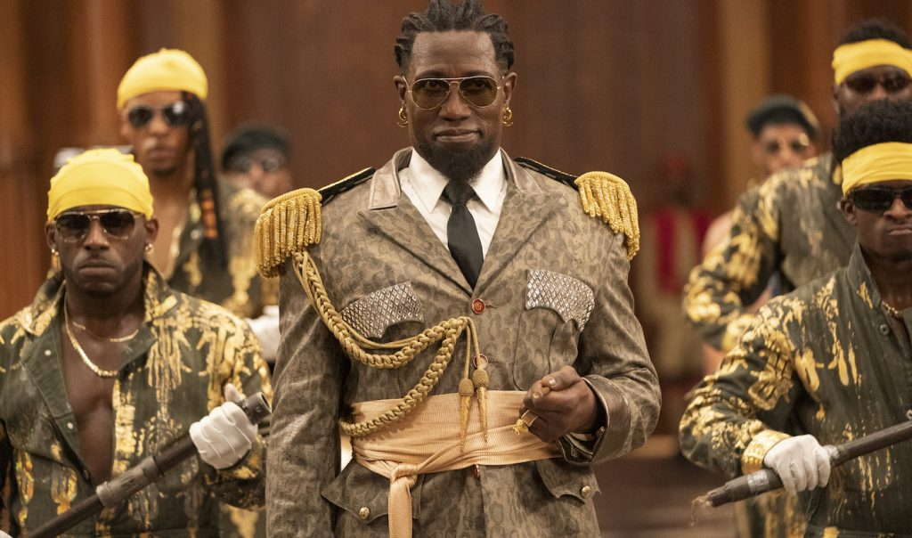 Wesley Snipes stars in COMING 2 AMERICA Photo: Quantrell D. Colbert © 2020 Paramount Pictures