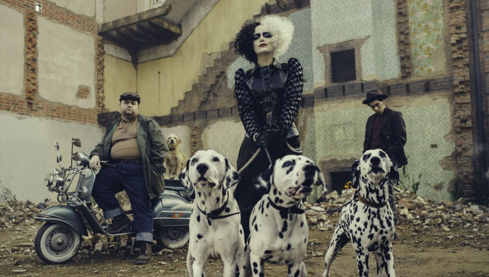 """Behind the Costumes, Wigs, & Makeup of the Deliciously Punk """"Cruella"""""""