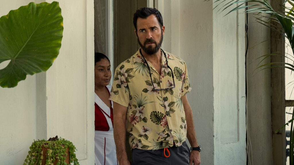 """Justin Theroux in """"The Mosquito Coast,"""" now streaming on Apple TV+."""