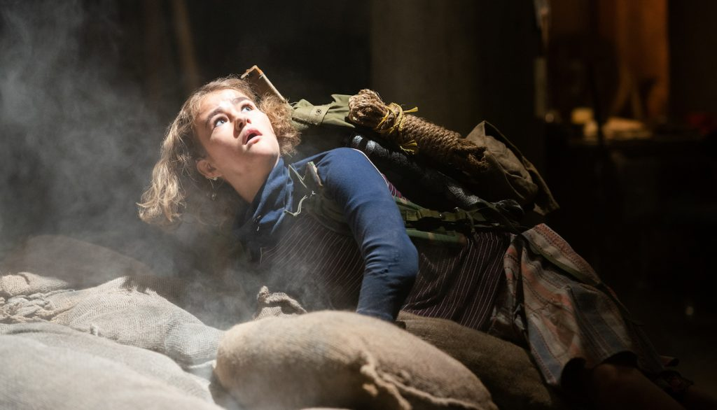 """Regan (Millicent Simmonds) braves the unknown in """"A Quiet Place Part II."""" Photo by Jonny Cournoyer. Courtesy Paramount Pictures."""