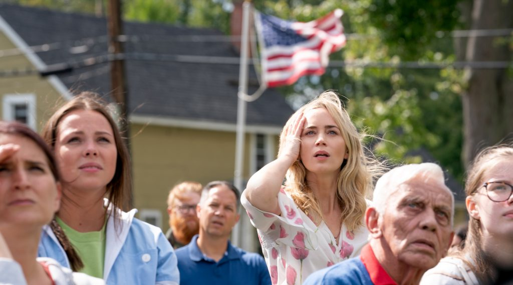 Evelyn (Emily Blunt) braves the unknown in