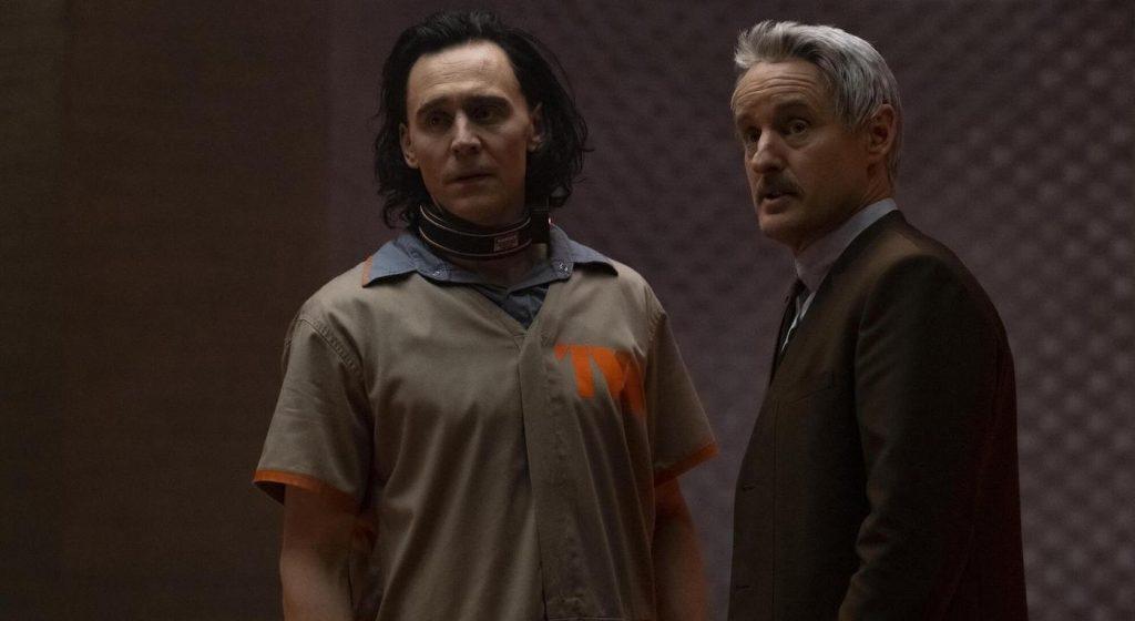 Tom Hiddleston is Loki and Owen Wilson is Mobius M. Mobius in 'LOKI.' Photo Courtesy Marvel Studios.