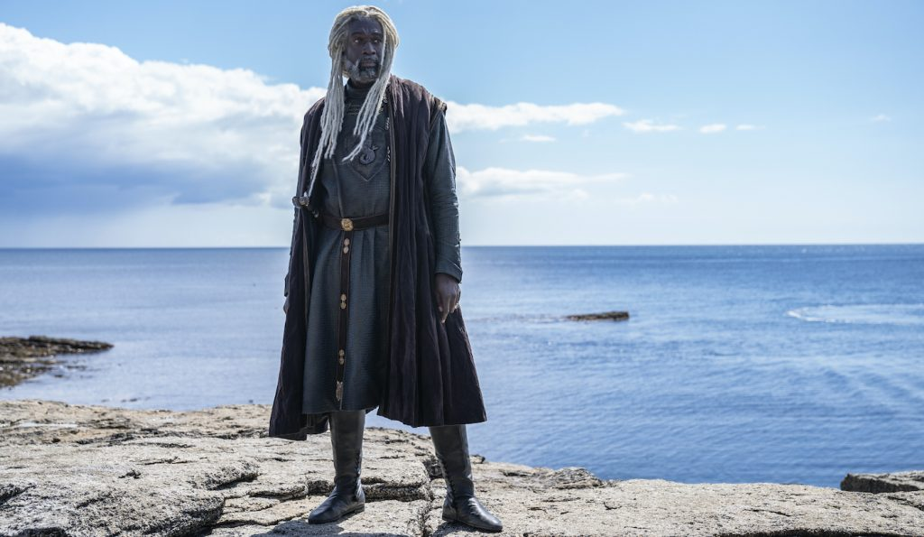 """Steve Toussaint as Lord Corlys Velaryon, """"The Sea Snake"""" Photograph by Ollie Upton/HBO"""