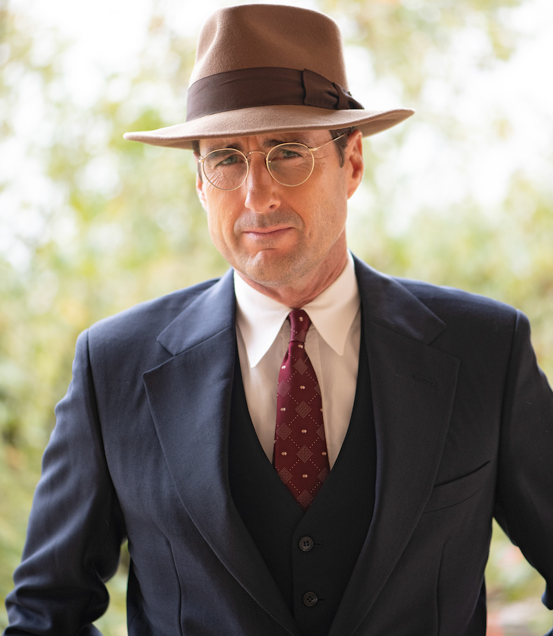 Center: Luke Wilson as Rusty Russell in 12 MIGHTY ORPHANS. Photo by Laura Wilson. Courtesy of Sony Pictures Classics.