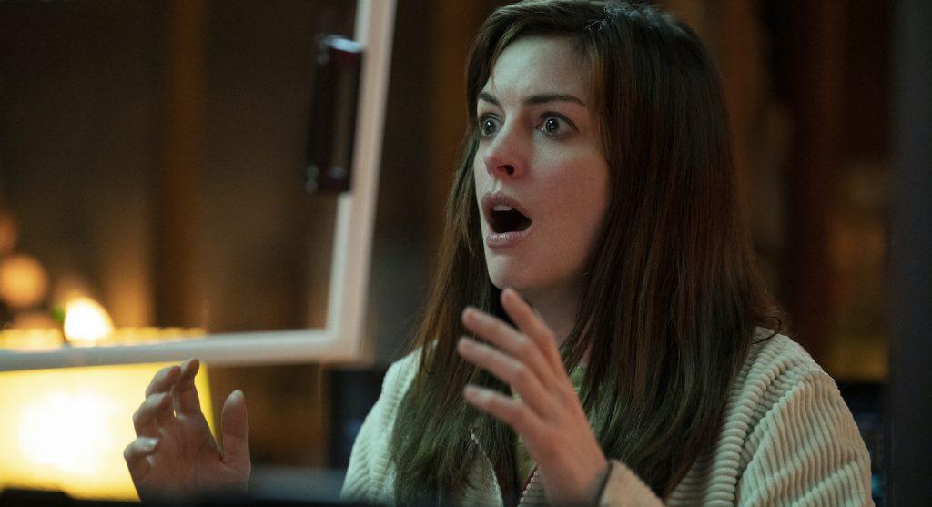 "Anne Hathaway in ""Solos."" Courtesy Amazon Studios."