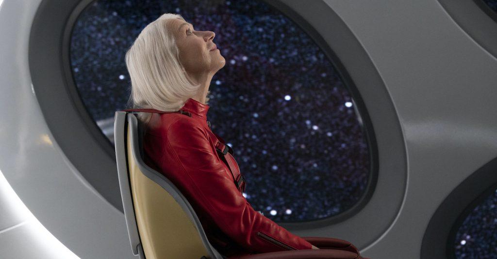 "Helen Mirren in ""Solos."" Courtesy Amazon Studios."