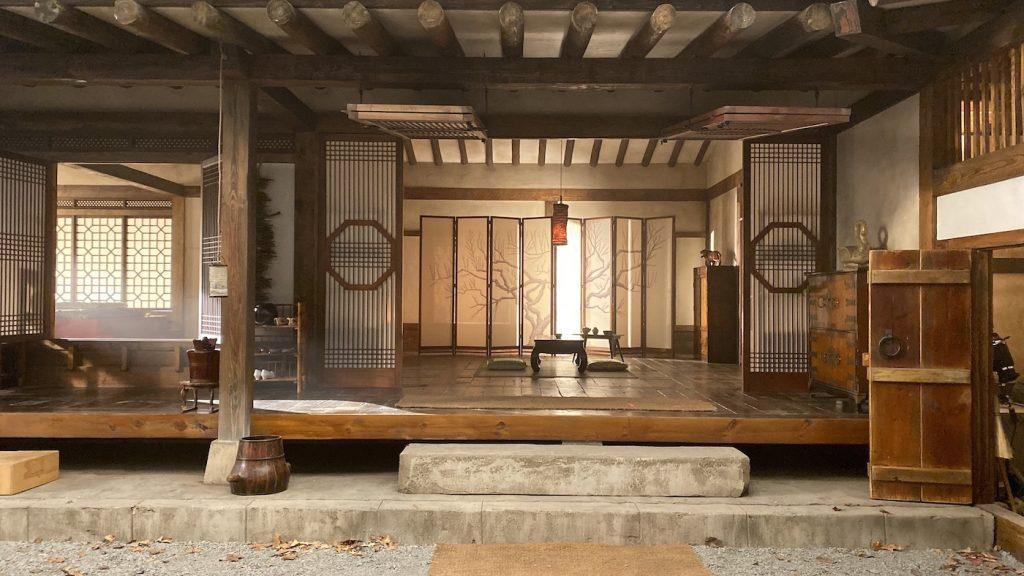 "Concept art for the Hanok in ""Meet Me In Daegu."" Courtesy Kalina Ivanov/HBO."