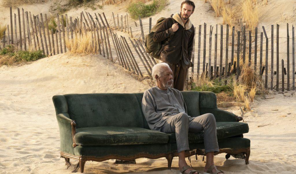 """Morgan Freeman in """"Solos."""" Courtesy Amazon Studios."""