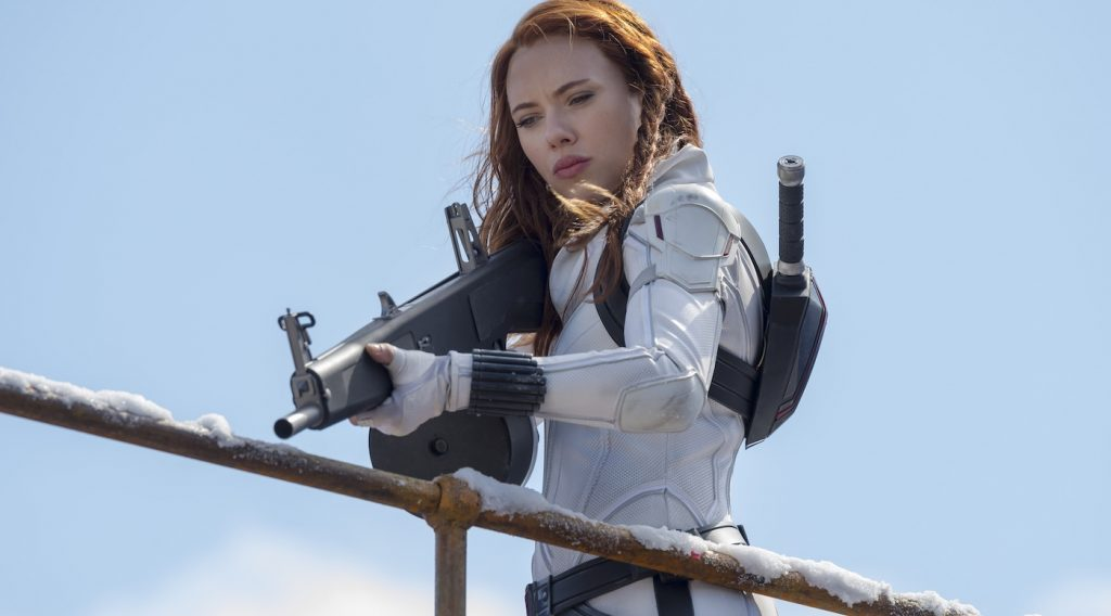 Black Widow/Natasha Romanoff (Scarlett Johansson) in Marvel Studios' BLACK WIDOW. Photo by Jay Maidment. ©Marvel Studios 2020.