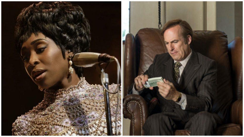 L-r: Cynthia Erivo is Aretha Franklin in