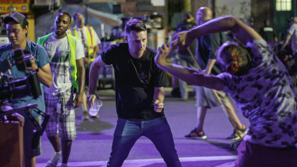 """Choreographer CHRISTOPHER SCOTT on the set of Warner Bros. Pictures' """"IN THE HEIGHTS,"""" a Warner Bros. Pictures release. COPYRIGHT: © 2021 Warner Bros. Entertainment Inc. All Rights Reserved."""