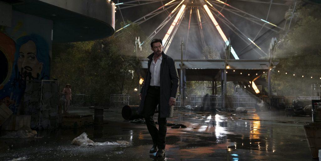 "Caption: HUGH JACKMAN as Nick Bannister in Warner Bros. Pictures' action thriller ""REMINISCENCE,"" a Warner Bros. Pictures release. Photo Credit: Ben Rothstein"