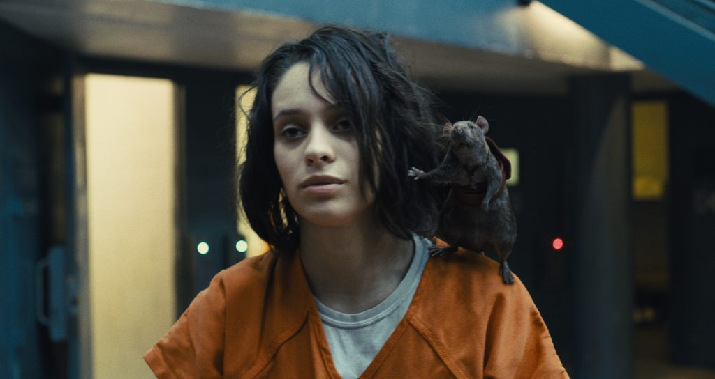 """Caption: DANIELA MELCHIOR as Ratcatcher 2 in Warner Bros. Pictures' superhero action adventure """"THE SUICIDE SQUAD,"""" a Warner Bros. Pictures release. Photo Credit: Courtesy of Warner Bros. Pictures/™ & © DC Comics"""