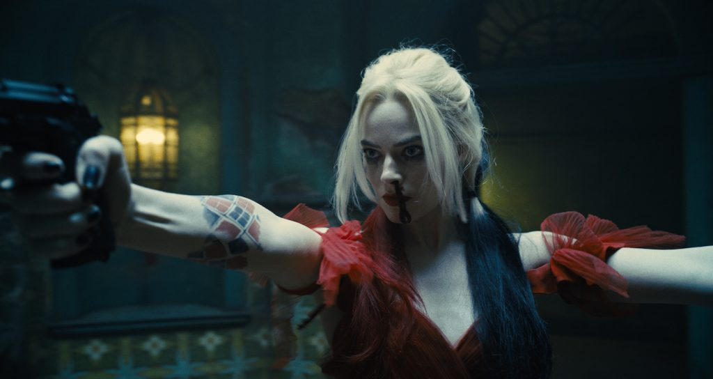 """Caption: MARGOT ROBBIE as Harley Quinn in Warner Bros. Pictures' superhero action adventure """"THE SUICIDE SQUAD,"""" a Warner Bros. Pictures release. Photo Credit: Courtesy of Warner Bros. Pictures/™ & © DC Comics"""