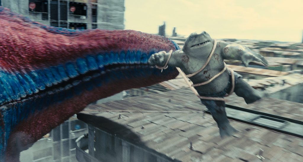 """Caption: KING SHARK in Warner Bros. Pictures' superhero action adventure """"THE SUICIDE SQUAD,"""" a Warner Bros. Pictures release. Photo Credit: Courtesy of Warner Bros. Pictures/™ & © DC Comics"""